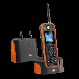 Cordless Motorola O201 Arancione - Prodotto d'Occasione