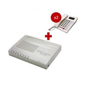 Orchid Telecom PBX 308 + 2 telefoni PK-111C