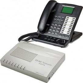 Orchid Telecom KS 416 + Telefono operatore Orchid KP 416
