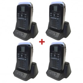 Pack Quartetto: Walkie Talkie Dynascan D1
