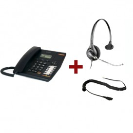 Alcatel Temporis 580 + Cuffia Plantronics Supra Plus HW251