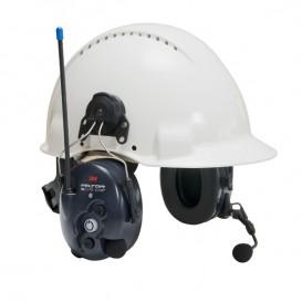 Cuffia antirumore 3M Peltor Litecom WS Bluetooth - Elmetto