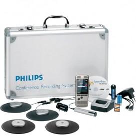 Custodia professionale completa di registratore, microfoni, software, docking station