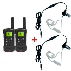 Motorola TLKR T60 + 2 Auricolari