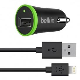 Caricatore auto 2.4A + cavo USB - Lightning