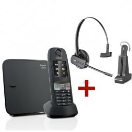 Cordless Gigaset E630 + Cuffia wireless Plantronics C565