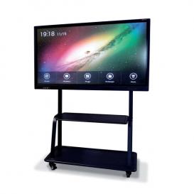 Supporto Mobile Basico nero per schermi MultiClass