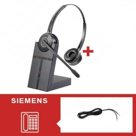 Pack cuffie Cleyver HW25 per Siemens
