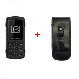 Cleyver XDIVE con custodia resistente per telefoni DECT
