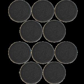 10 copriauricolari in spugna, per Evolve 20-65