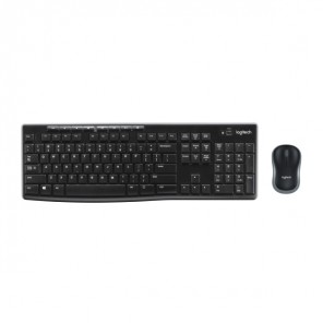 Set tastiera e mouse Logitech Wireless Combo MK270