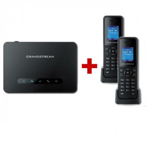 Base Dect Grandstream DP750 + 2 cordless DP720