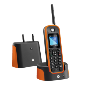 Cordless resistente Motorola O201 Arancione
