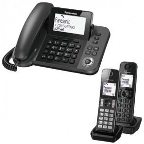 Panasonic Duo: KX-TGF310 + 1 Panasonic KX-TGFA30