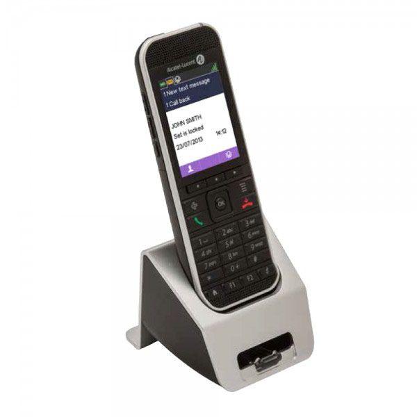 Base di ricarica doppia: batteria + telefono Dect 82XX