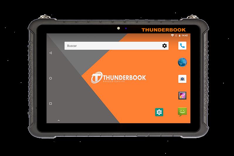 Thunderbook Colossus A101 con codice a barre