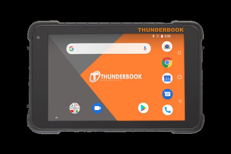 Thunderbook Colossus A801 con codice a barre