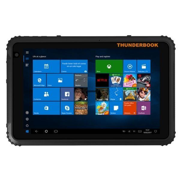 "Tablet Thunderbook T1820G da 8"" con Windows 10 PRO"