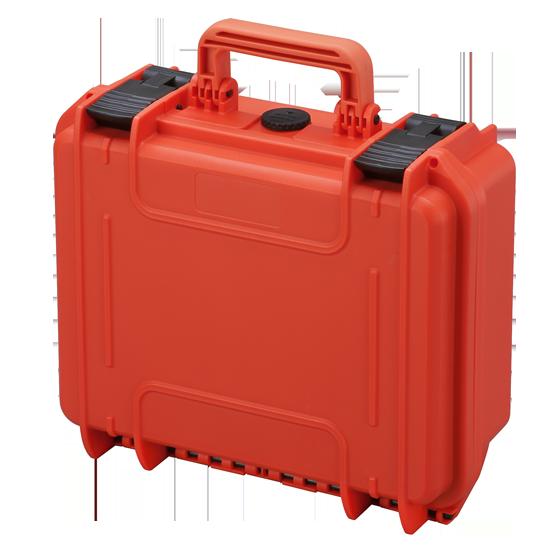 Valigia per ricetrasmittenti con interno in spugna MAX300S - Arancione