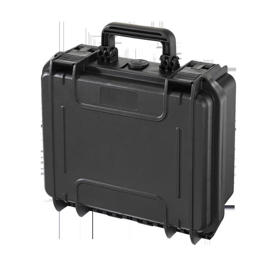 Valigia per ricetrasmittenti con interno in spugna MAX300S - Nera