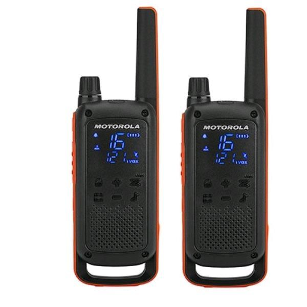 Coppia Ricetrasmittenti Motorola TLKR T82
