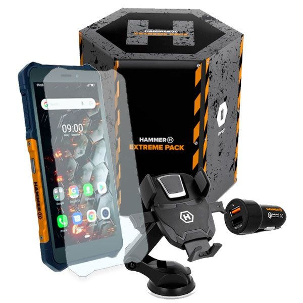 Hammer Pacchetto Extreme Iron 3 LTE Nero Arancione