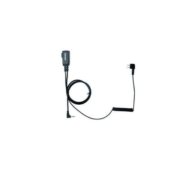 Cavo PTT per Peltor SportTac PTT32 per walkie talkie Motorola con connettore PTT32M2