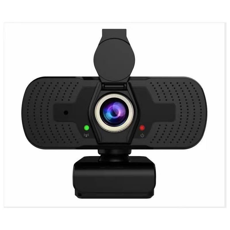 Webcam USB HD Compatta con copriobiettivo