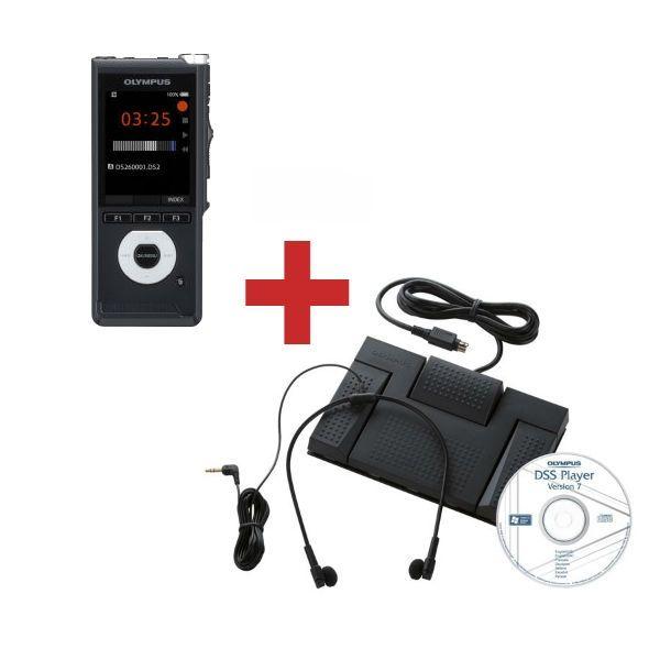 Olympus DS2600 + Kit di transcrizione AS2400