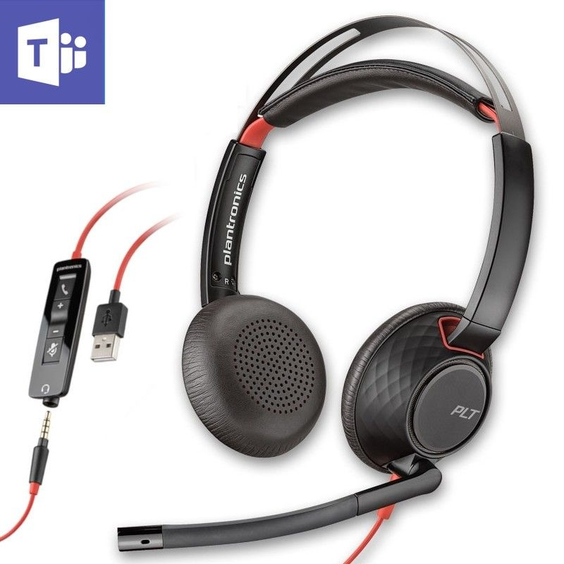 Cuffia filare Plantronics Blackwire 5220 USB