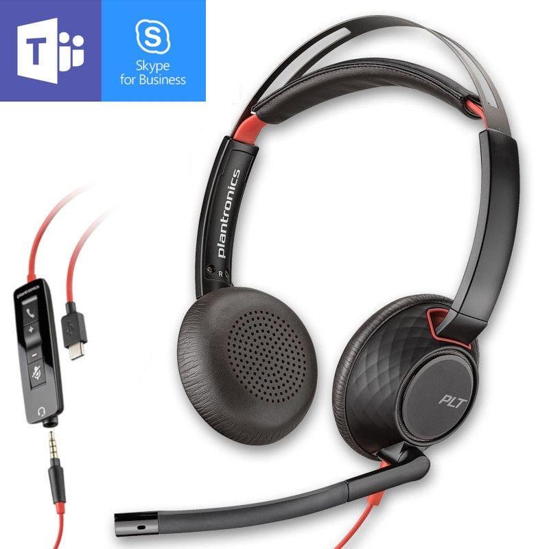 Cuffia filare Plantronics Blackwire 5220 USB-C