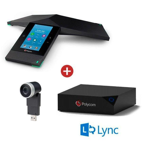 Realpresence 8800 Trio Collaboration Kit con EagleEye Mini - Versione Skype For Business
