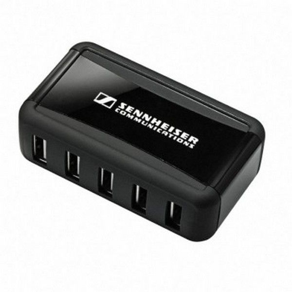 Caricatore USB multiplo per Sennheiser DW