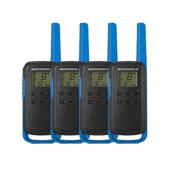Pack quartetto Motorola Talkabout T62 (2x coppie) - Blu
