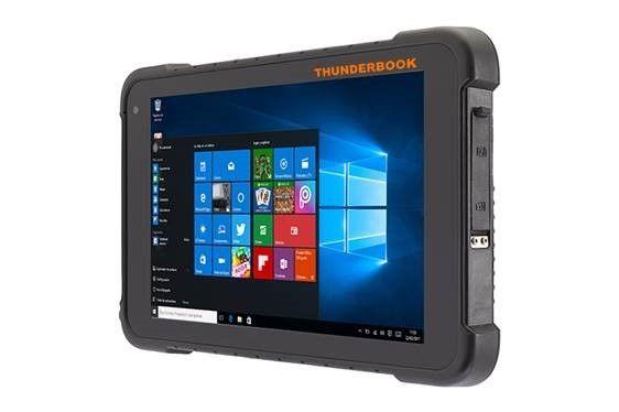 Thunderbook Colossus W100 Windows Pro con lettore di codice a barre