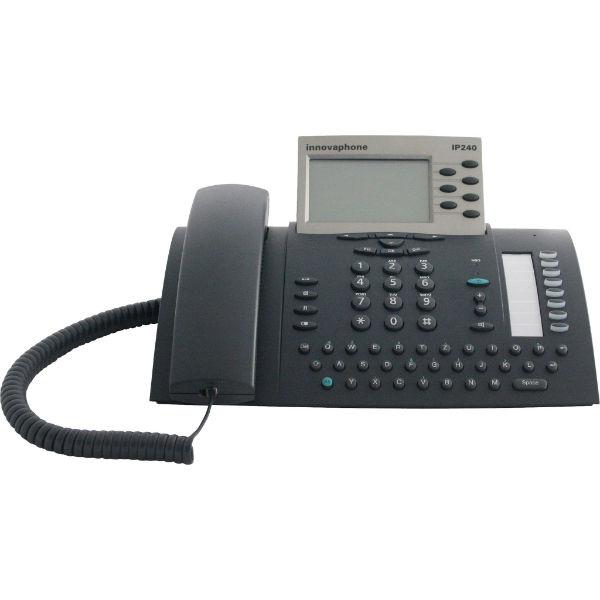 Telefono fisso innovaphone ip241 espandibile design - Telefono fisso design ...