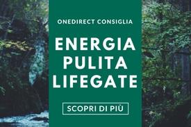 SCOPRI L'ENERGIA PULITA LIFEGATE