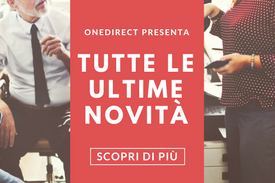 ULTIME NOVITÀ ONEDIRECT
