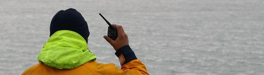 Ricetrasmittenti e walkie talkie con banda marina