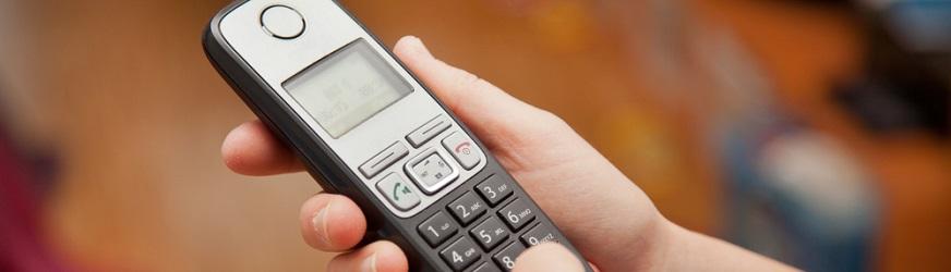 Telefoni cordless ricevitore singolo