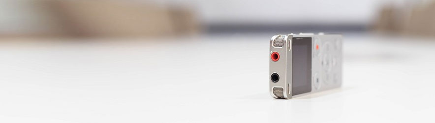 Accessori vari per registratori vocali digitali