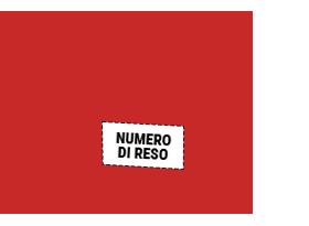 Colque la etiqueta en la caja con el número de devolución que le han indicado