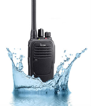 Walkie Talkie VHF sumergible