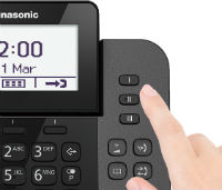 Teléfono fijo + inalámbrico Panasonic